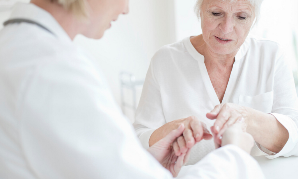 What's the difference between rheumatoid disease and osteoarthritis?