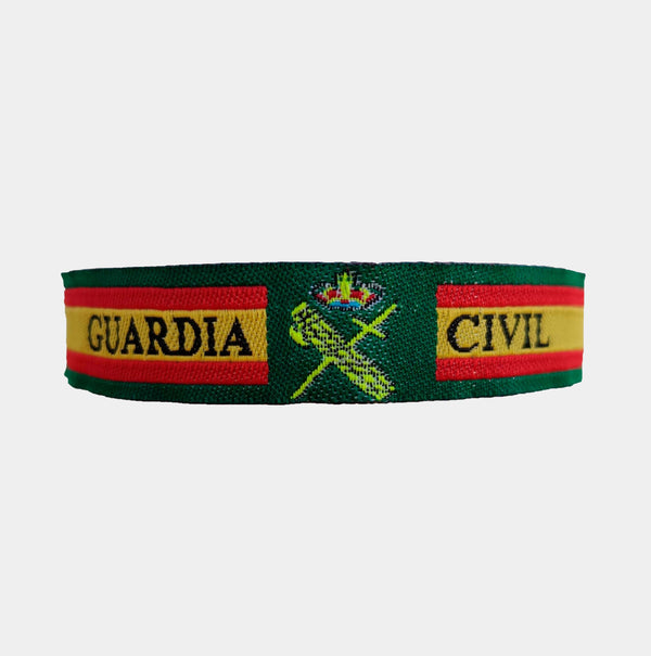 Pulsera de la Guardia Civil