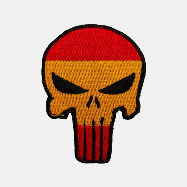 "Parche de ""The Punisher"" con la bandera de España"