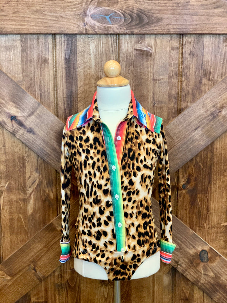 Cheetah with serape