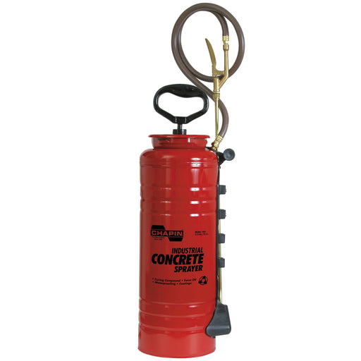 Industrial Open Head Concrete Sprayer, 3.5 Gal