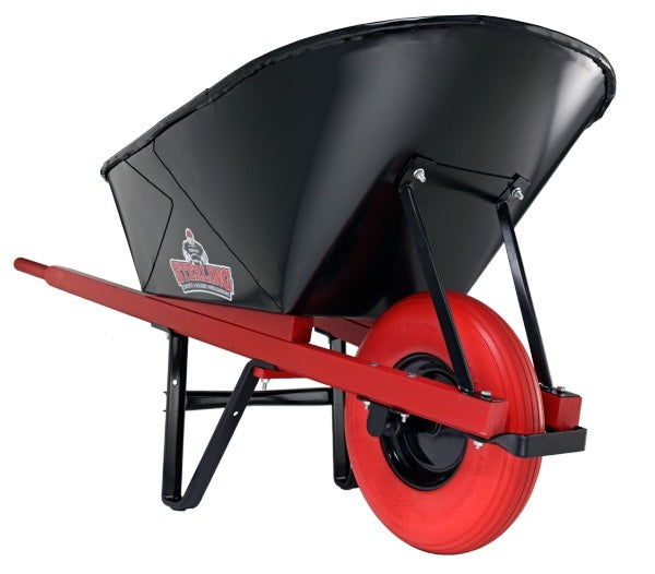 6 cu. ft. Wheelbarrow, with Foam Tires