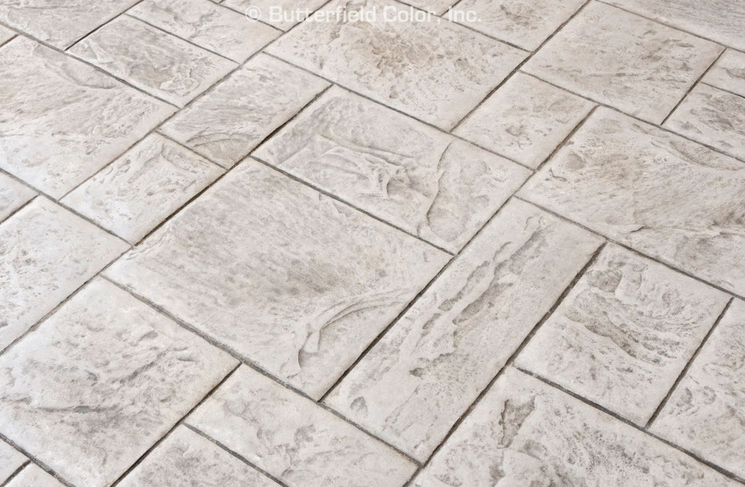 Ashlar Slate Stamp Pattern