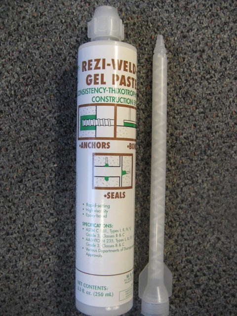 Rezi-Weld Epoxy Universal 250 mL tube