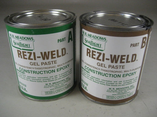 Rezi-Weld Gel Paste Epoxy, 1 qt