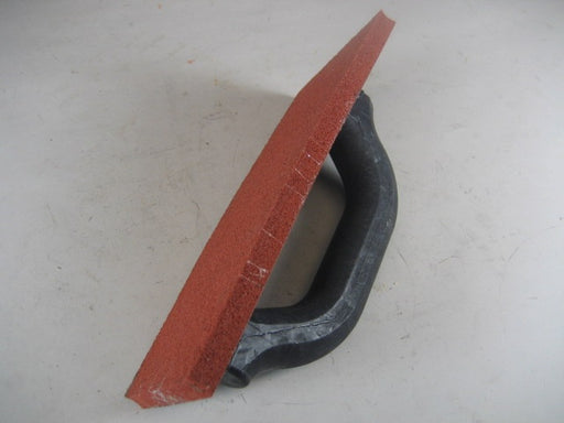 "9"" x 4"" Red Rubber Float"