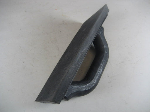 "9"" x 4"" Black Rubber Float"