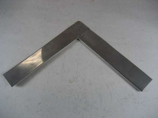 "1-1/2"" IPCO Stainless Steel Inside Corner Drip Edge"