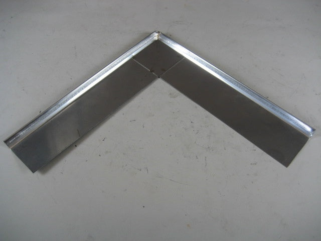 "1-1/2"" IPCO Stainless Steel Outside Corner Drip Edge"