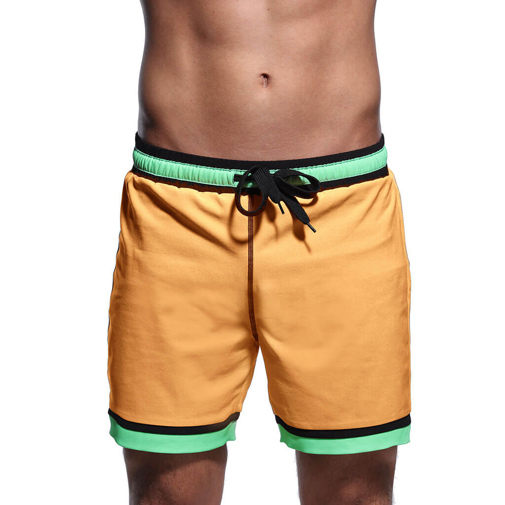 Orange Swim Trunks - Or & G