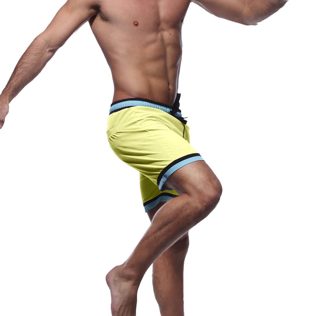 Yellow Swim Trunks - Yeah Low