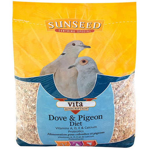 Sunseed nourriture pigeon et colombe