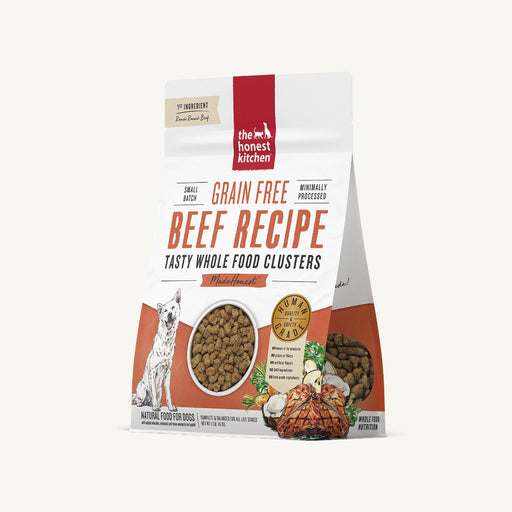 HONEST KITCHEN NOURRITURE CHIEN GRAPPES D'ALIMENTS ENTIERS - BOEUF SANS GRAIN