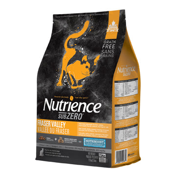 Subzero Nutrience Sans grains pour chats, formulation Vallée du Fraser