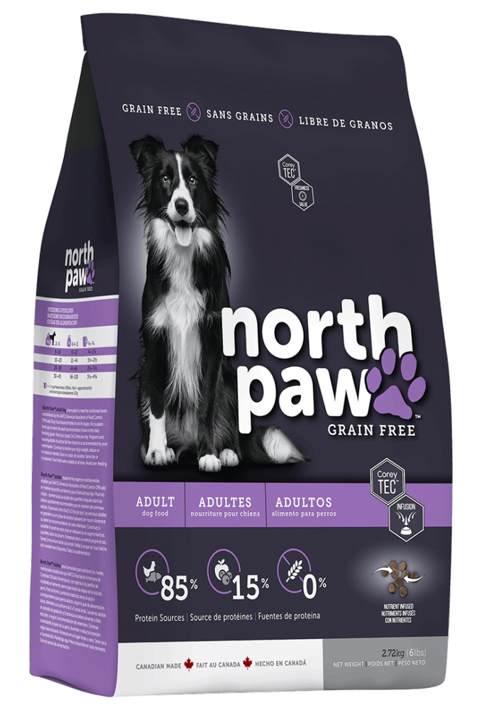 NORTH PAWS NOURRITURE CHIEN ADULTE