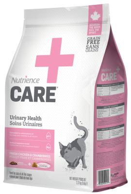 Nutrience care soin urinaire nourriture pour chat