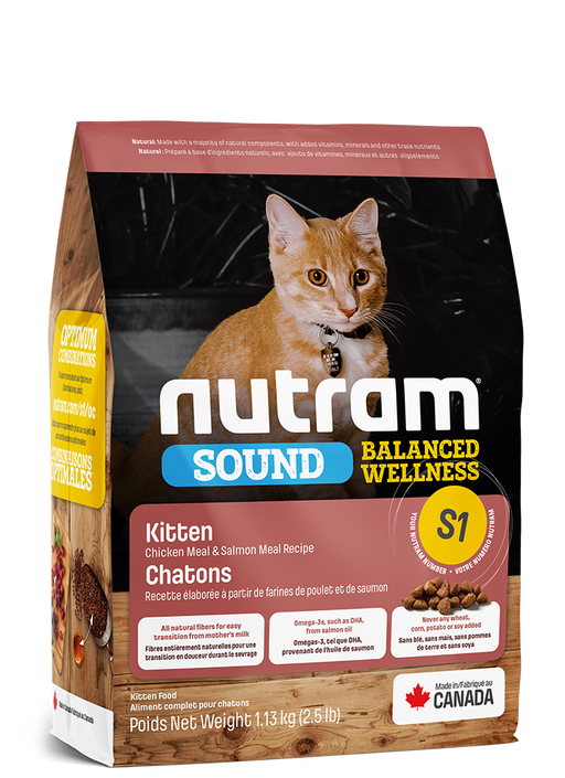 NUTRAM SI SOUND NOURRITURE POUR CHATON