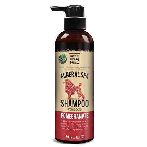 Mineral spa pomme grenade shampoing pour chien