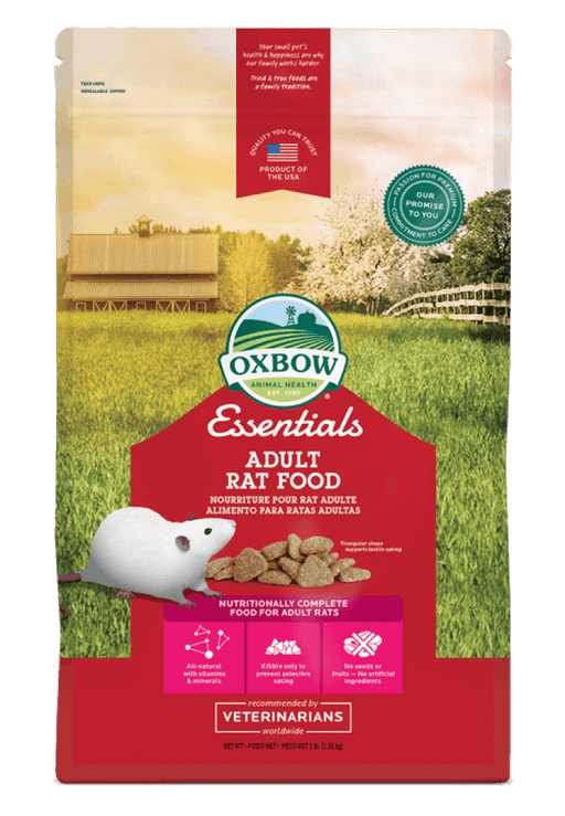 Oxbow essentials nourriture pour rats adultes