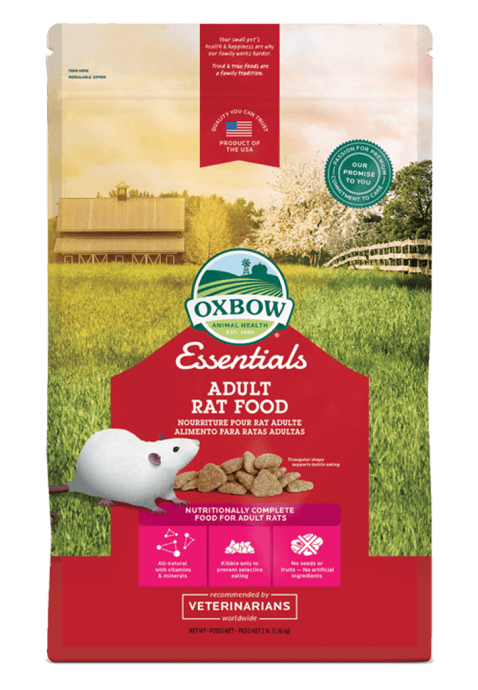 Oxbow Essentials - Nourriture pour rats adultes