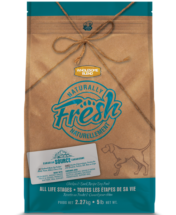 Nourriture pour chien Wholesome Blend Naturally Fresh