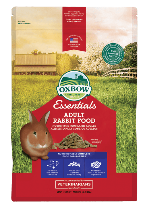 Oxbow essentials nourriture pour lapin adulte