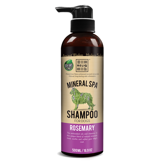 Mineral spa romarin shampoing pour chien