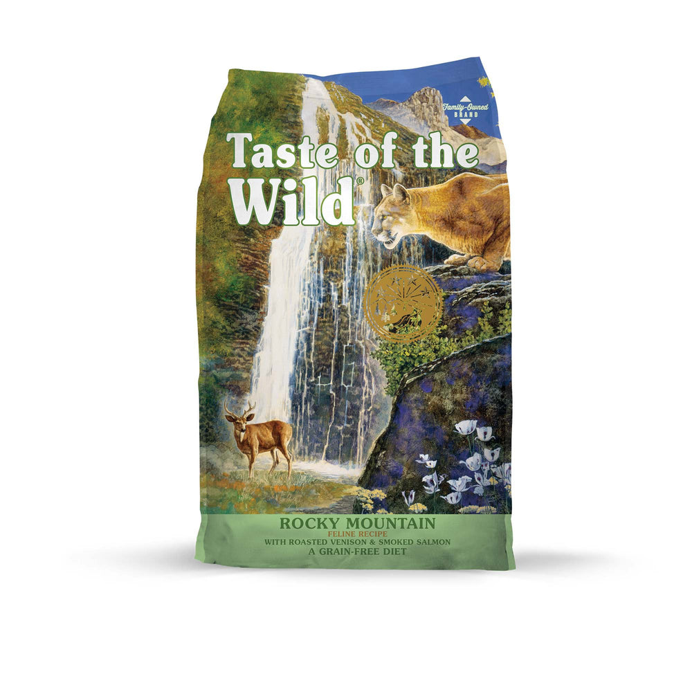 Taste of the wild rocky mountain nourriture pour chats 6.35 kg