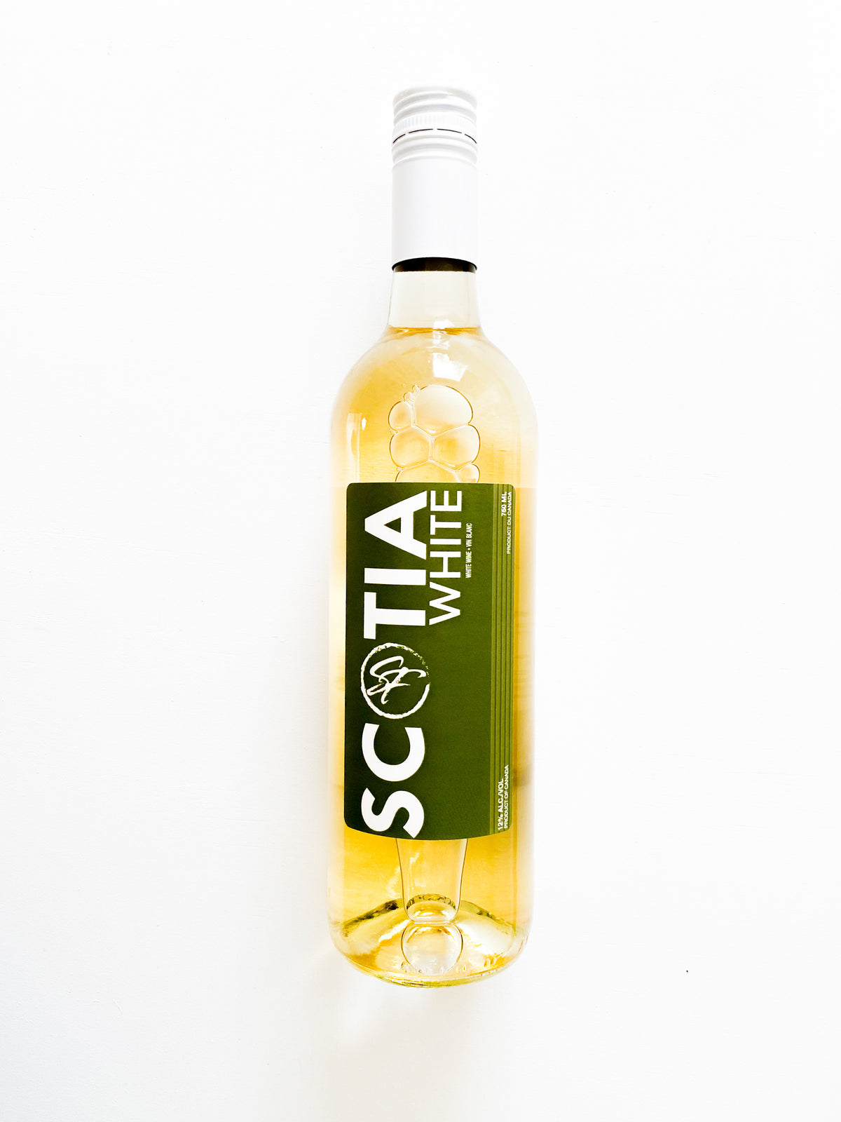 Bottle of Sainte-Famille Scotia White.