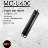 Aluminum USB Voice Activated Recorder Key Chain - Up to 25 Days Recording