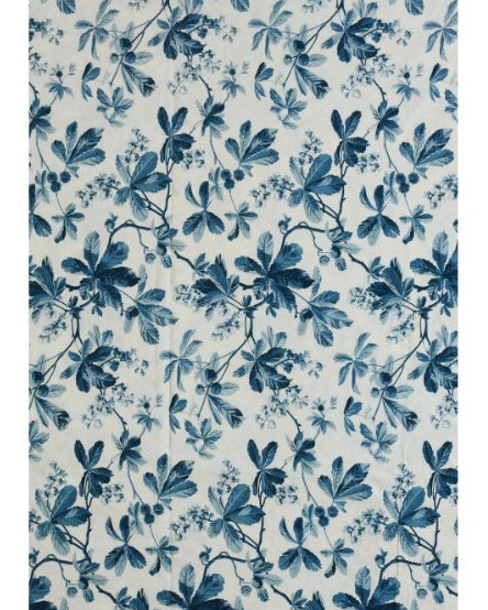 D'ASCOLI CHESTNUT TABLECLOTH - BLUE