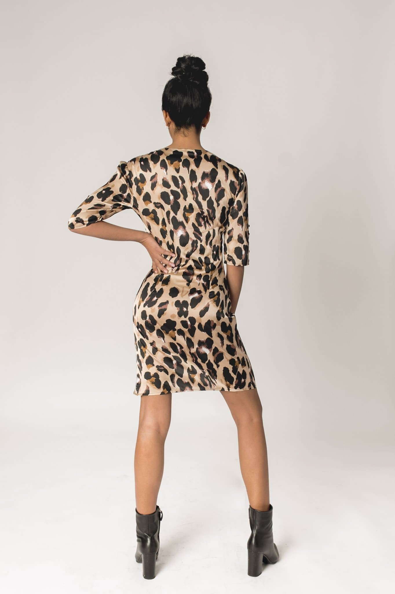 Audrey Dress- Leopard