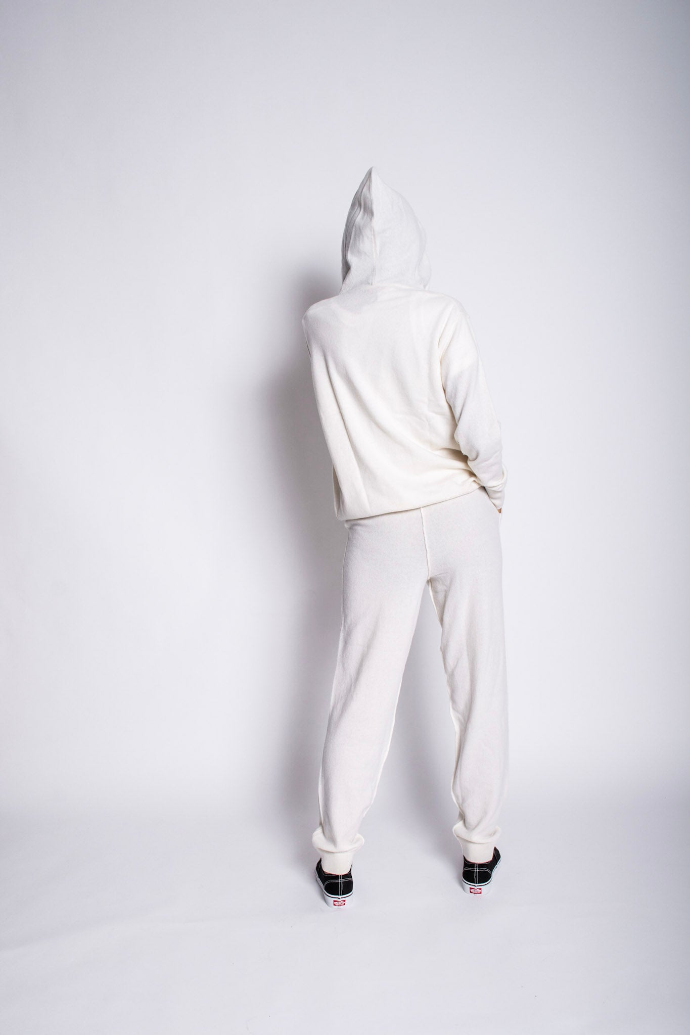 Cashmere Sweatsuit Two Piece Set