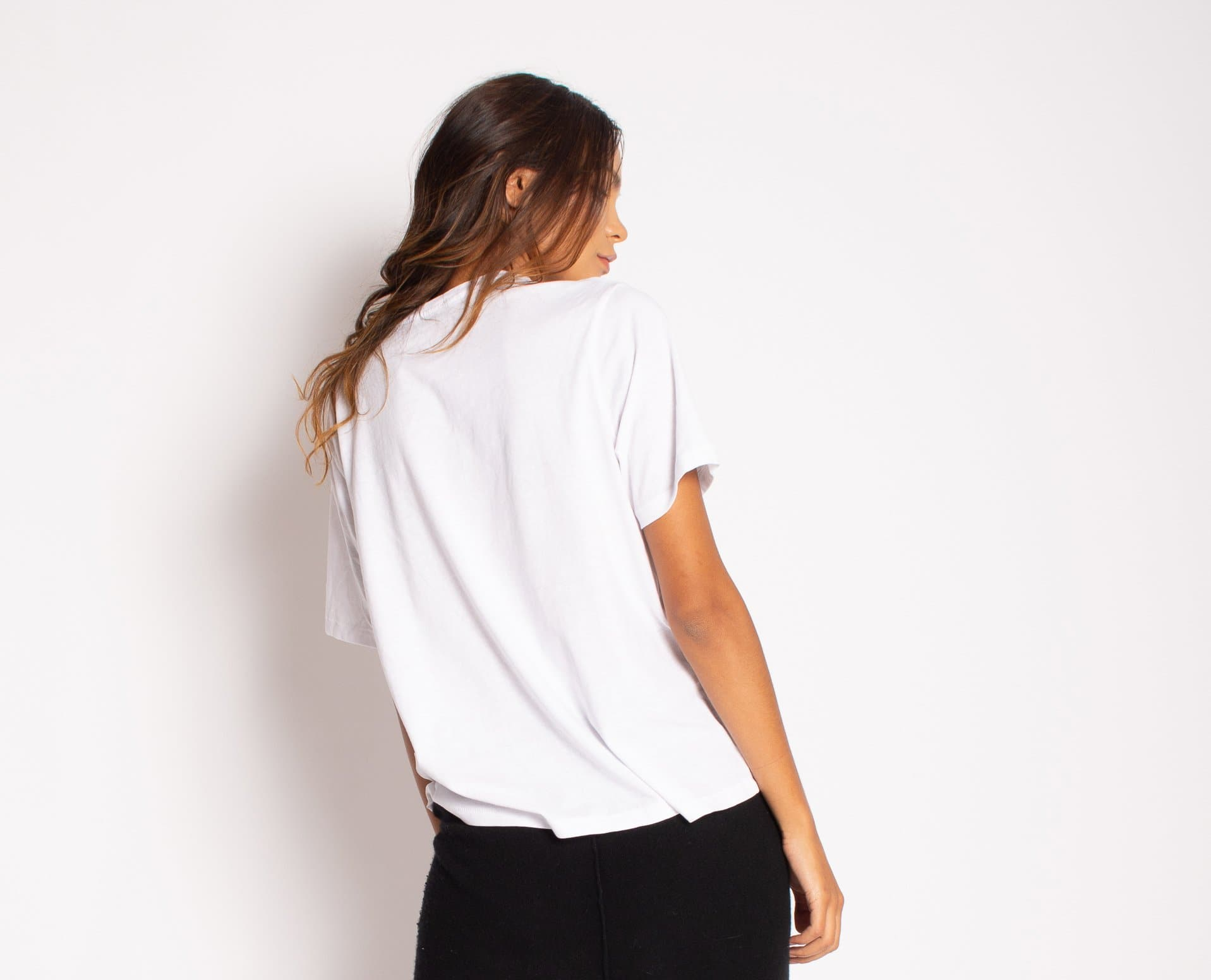 Everyday Embellished Organic Cotton Tee tops Karen Thomas NY