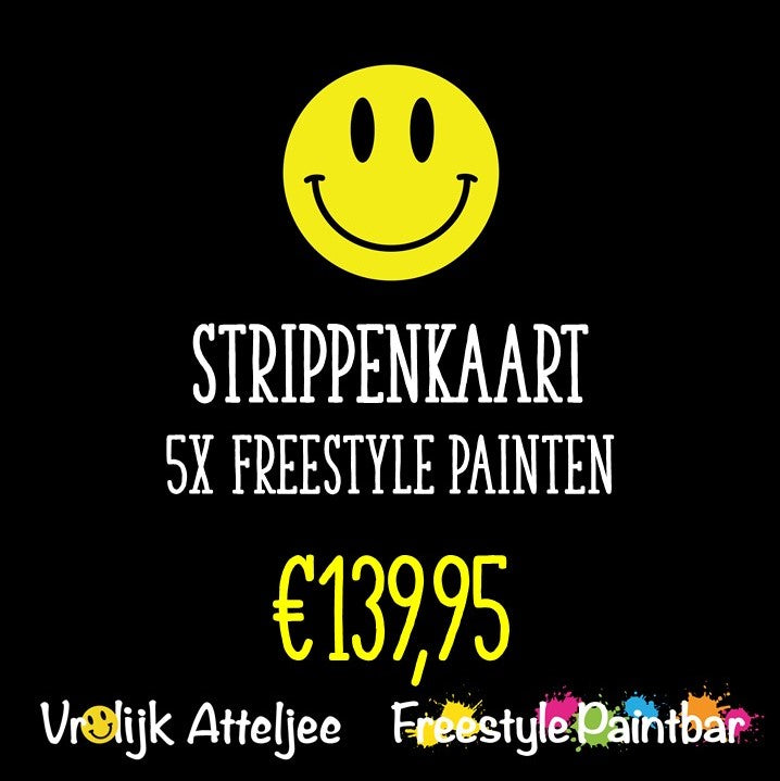 Strippenkaart 5x Freestyle Painten