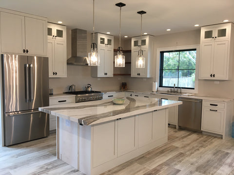 Kitchen Lighting is important. Let us help you find the right fixtures.