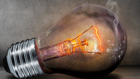 Incandescent bulbs create waste and heat