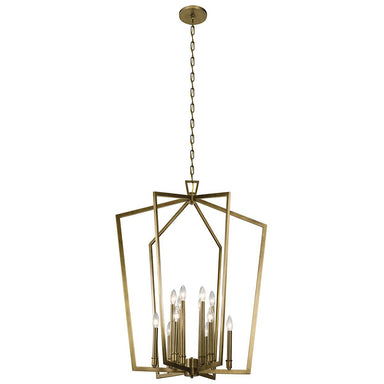Abbotswell 12-Light Foyer Chandelier-Indoor Lighting-ShopforLights-Kichler Lighting