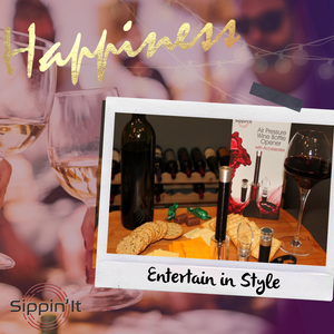 Sippin'It Wine accessories perfect for entertaining in style