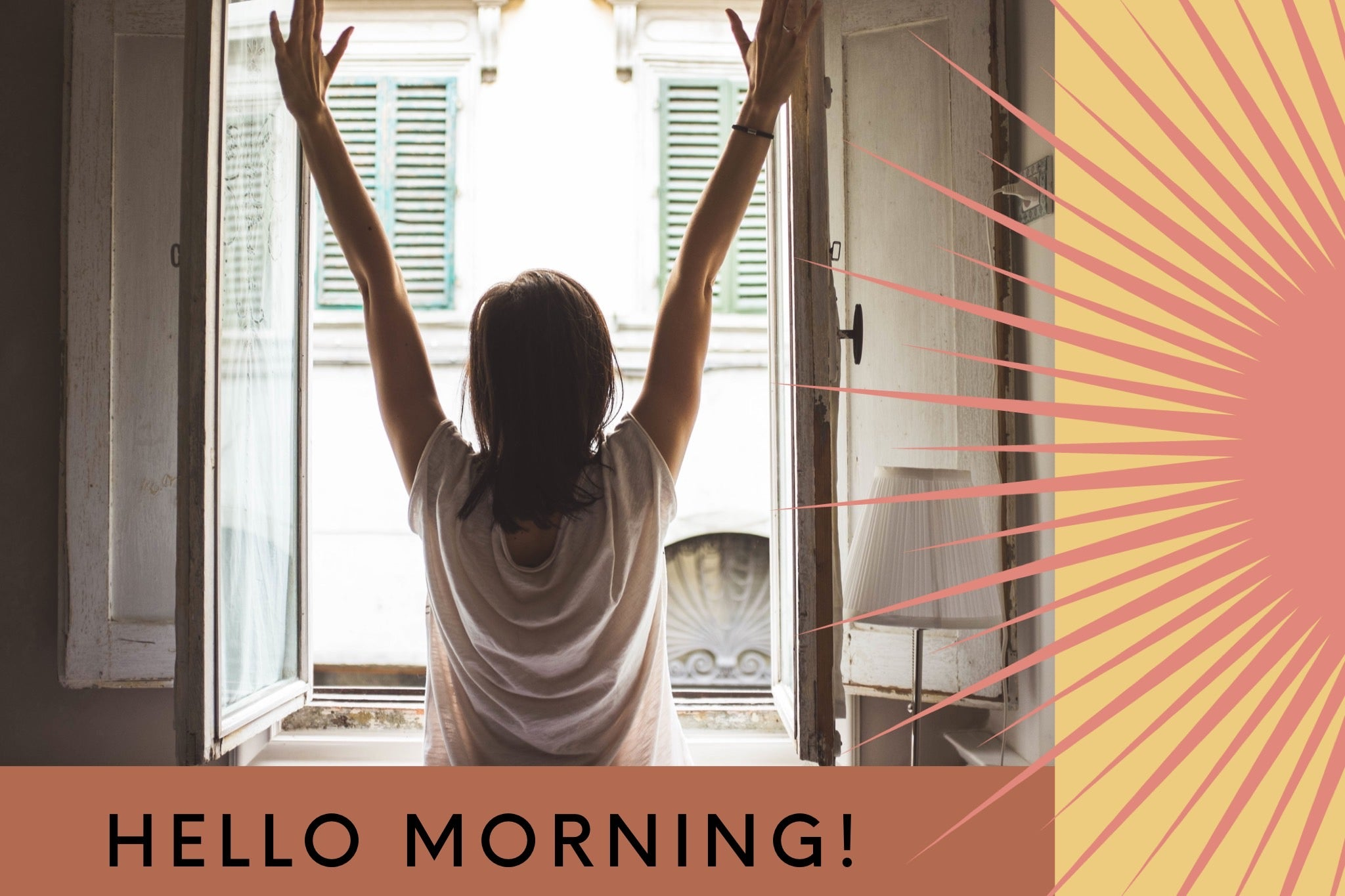 Sippin'It tips for better sleep and habits to get your morning started off right