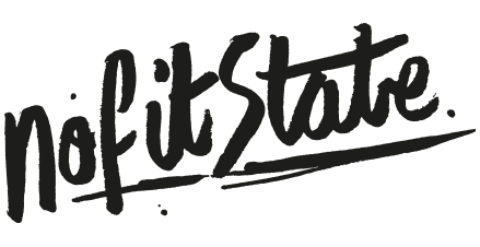 No Fit State Clothing Birmingham Logo