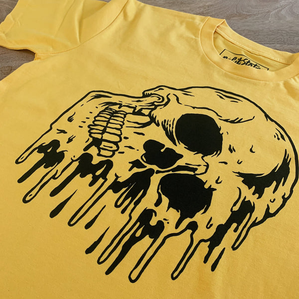 No Fit State Melting Skull Logo T-Shirt