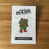 Teenage Mutant Ninja Turtles Rocksteady Pin (1989)