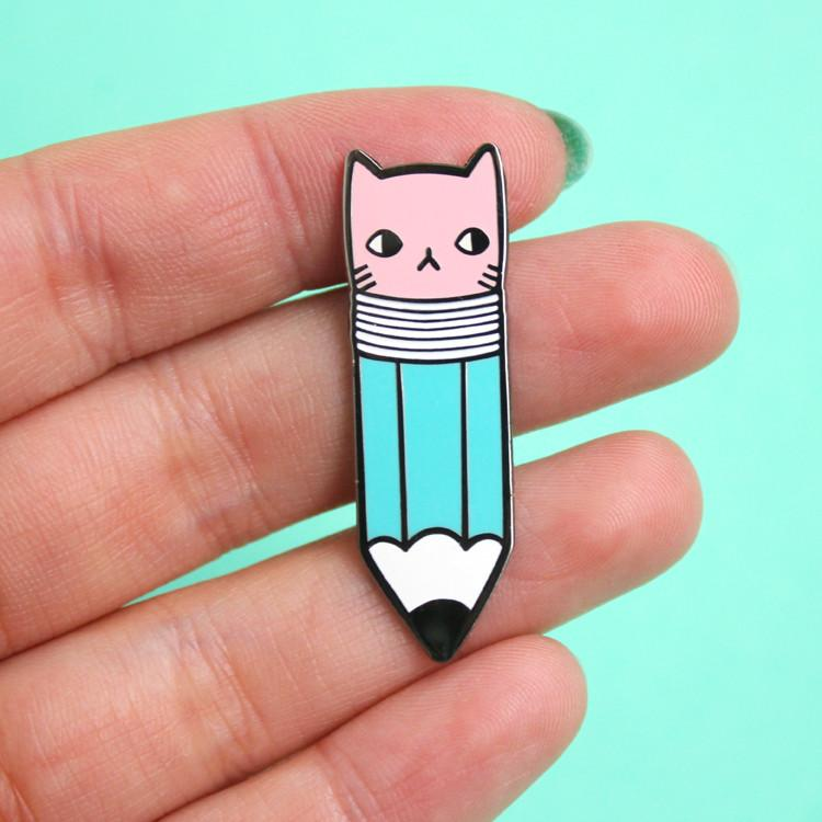 Pony People - Pencil Kitty Pin