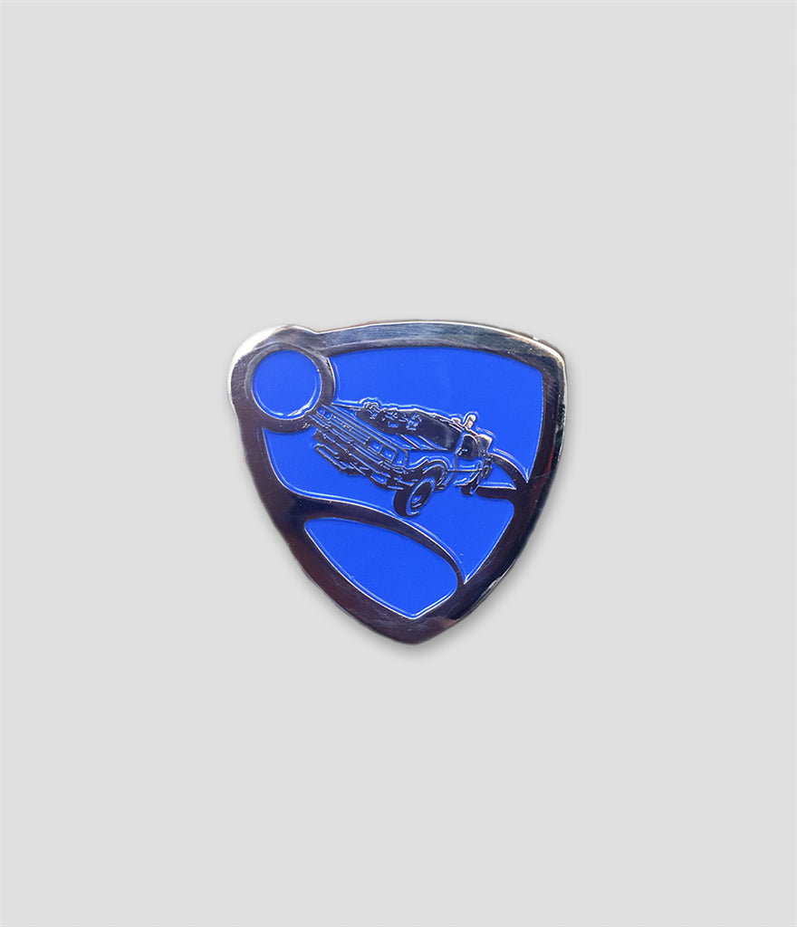 Outlandy - Rocket League x Back To The Future Pin