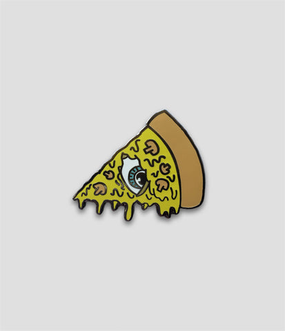 NFS x Sam Dunn - Pizza Skull Pin