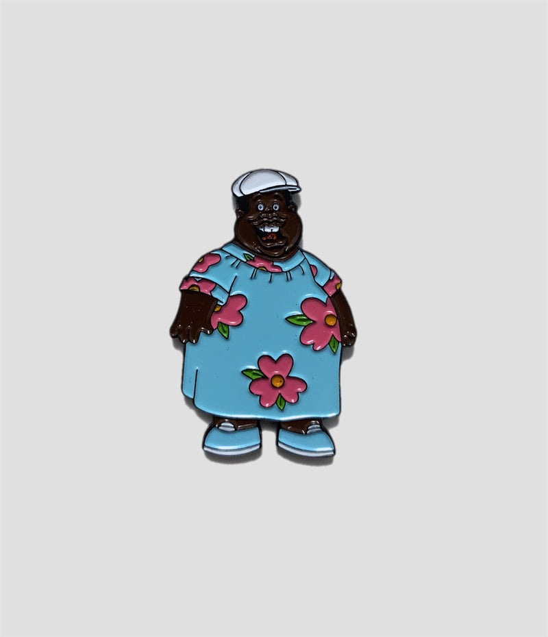 Get Rich Slow - Fat Albert Muumuu Pin