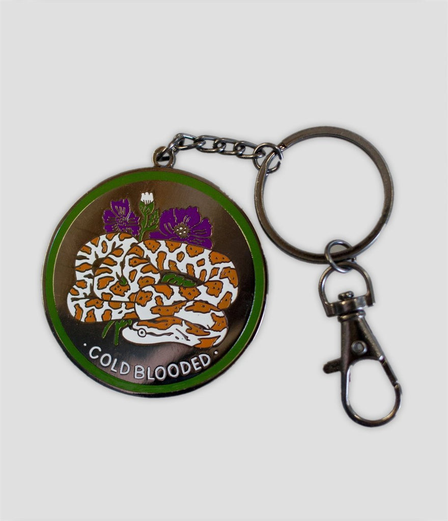 Stay Home Club - Cold Blooded Keychain