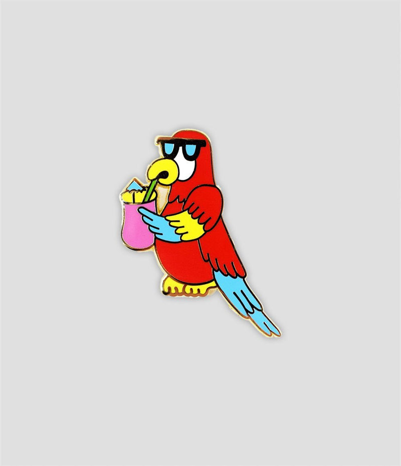 Valley Cruise - Cool Parrot Pin