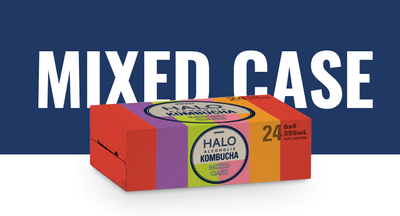 HALO mixed case - Try each flavour